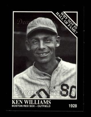 1992 Conlon #442   -  Ken Williams Why Not in the Hall of Fame?