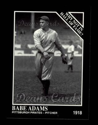 1992 Conlon #443   -  Babe Adams Why Not in the Hall of Fame?
