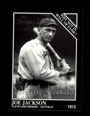 1992 Conlon #444   -  Joe Jackson Why Not in the Hall of Fame?
