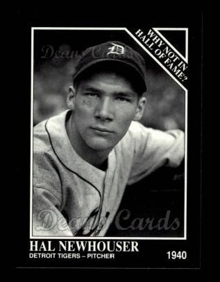 1992 Conlon #445   -  Hal Newhouser Why Not in the Hall of Fame?