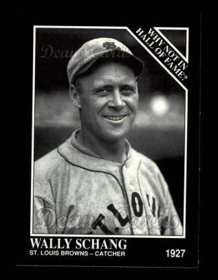 1992 Conlon #448   -  Wally Schang Why Not in the Hall of Fame?