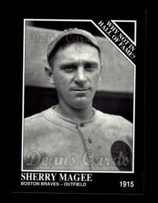 1992 Conlon #449   -  Sherry Magee Why Not in the Hall of Fame?