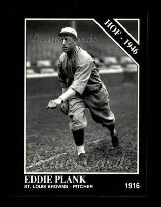 1992 Conlon #463   -  Eddie Plank Hall-of-Fame