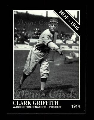 1992 Conlon #464   -  Clark Griffith Hall-of-Fame