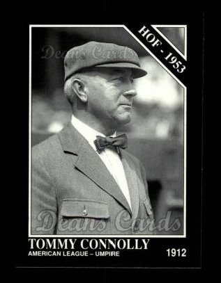 1992 Conlon #469   -  Tommy Connolly Hall-of-Fame