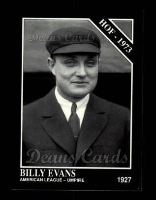 1992 Conlon #472   -  Billy Evans Hall-of-Fame