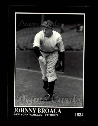 1992 Conlon #517  Johnny Broaca