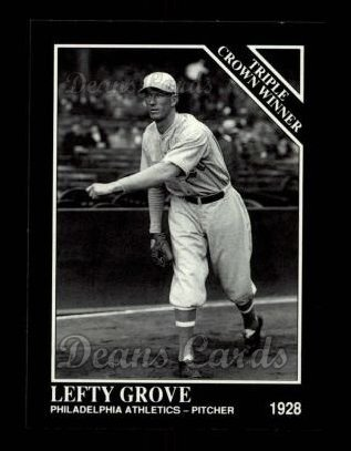 1992 Conlon #533   -  Lefty Grove Triple Crown Winners