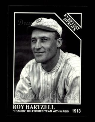 1992 Conlon #544   -  Roy Hartzell Everyday Heroes