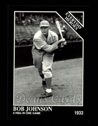 1992 Conlon #547   -  Bob Johnson Everyday Heroes