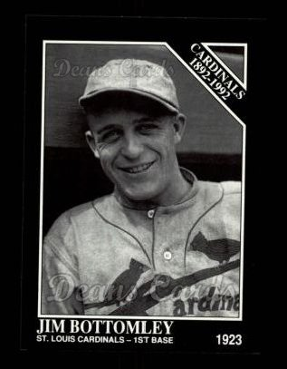 1992 Conlon #645   -  Jim Bottomley Cardinals 1982-
