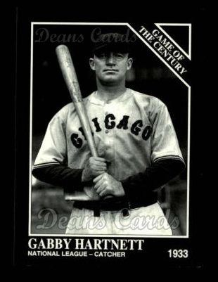 1993 Conlon #675   -  Gabby Hartnett 1933 All-Star Game