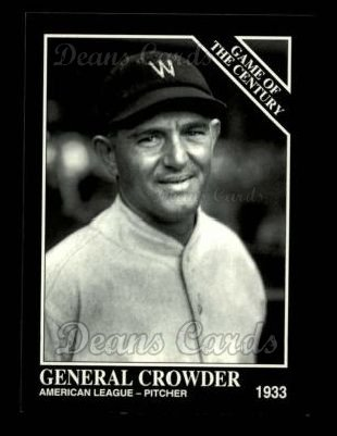 1993 Conlon #682   -  General Crowder 1933 All-Star Game