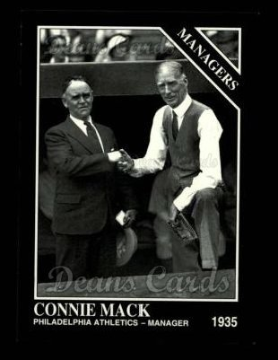 1993 Conlon #824   -  Connie Mack Managers