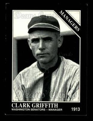 1993 Conlon #840   -  Clark Griffith Managers