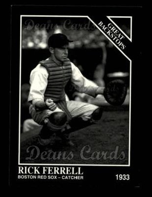1993 Conlon #861   -  Rick Ferrell Great Backstops