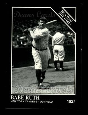 1993 Conlon #888   -  Babe Ruth Against All Odds