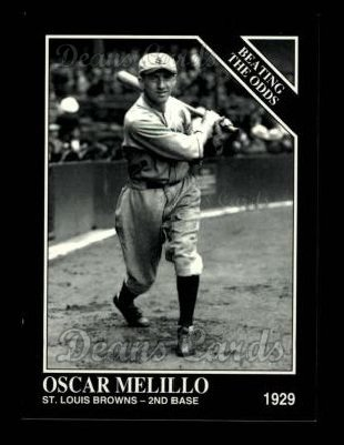1993 Conlon #890   -  Oscar Melillo Against All Odds