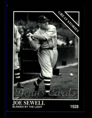 1994 Conlon #992   -  Joe Sewell Great Stories