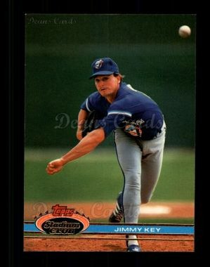 1991 Topps Stadium Club #221  Jimmy Key