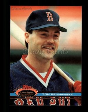 1991 Topps Stadium Club #297  Tom Brunansky