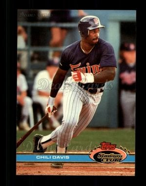 1991 Topps Stadium Club #329  Chili Davis