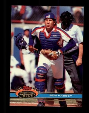 1991 Topps Stadium Club #490  Ron Hassey