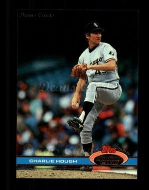 1991 Topps Stadium Club #579  Charlie Hough