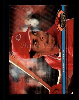 1991 Topps Stadium Club #92  Barry Larkin