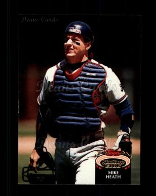 1992 Topps Stadium Club #128  Mike Heath
