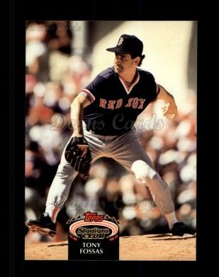 1992 Topps Stadium Club #144  Tony Fossas