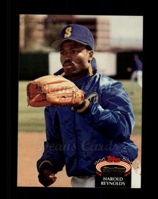 1992 Topps Stadium Club #181  Harold Reynolds