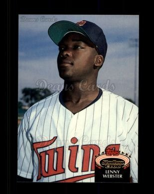1992 Topps Stadium Club #183  Lenny Webster