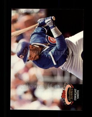1992 Topps Stadium Club #196  Dwight Smith