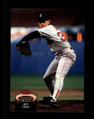 1992 Topps Stadium Club #222  Jeff Gray