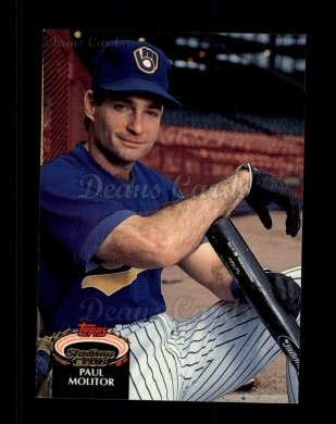 1992 Topps Stadium Club #230  Paul Molitor