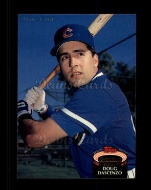 1992 Topps Stadium Club #252  Doug Dascenzo