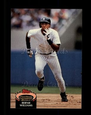 1992 Topps Stadium Club #260  Bernie Williams