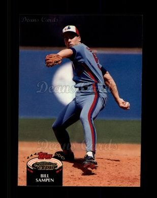 1992 Topps Stadium Club #277  Bill Sampen