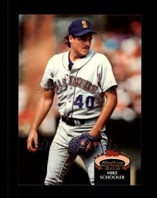 1992 Topps Stadium Club #313  Mike Schooler