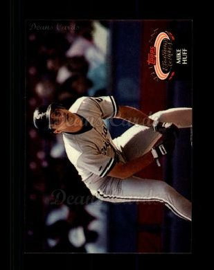 1992 Topps Stadium Club #329  Mike Huff