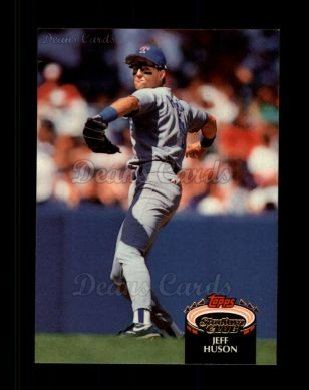 1992 Topps Stadium Club #341  Jeff Huson