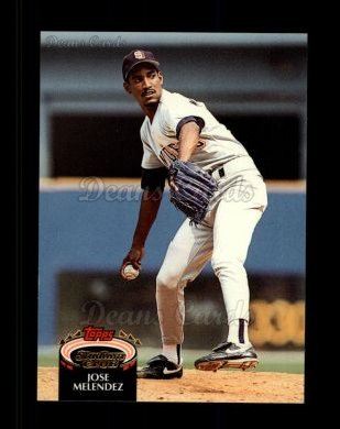 1992 Topps Stadium Club #342  Jose Melendez