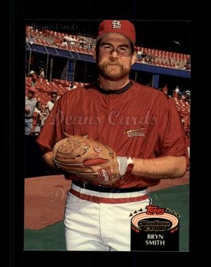 1992 Topps Stadium Club #368  Bryn Smith