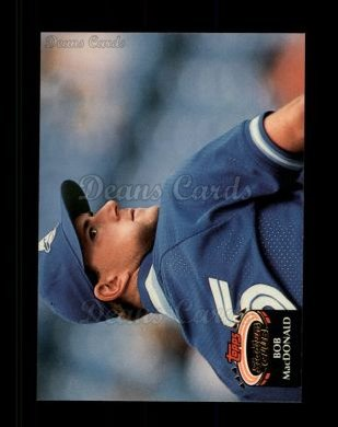1992 Topps Stadium Club #372  Bob MacDonald