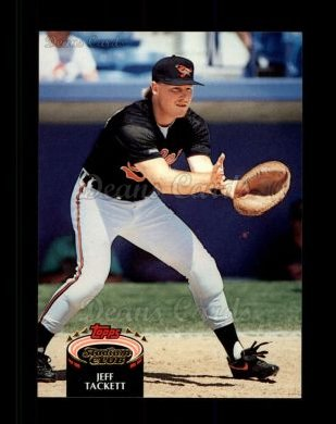 1992 Topps Stadium Club #383  Jeff Tackett