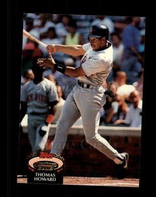 1992 Topps Stadium Club #401  Thomas Howard