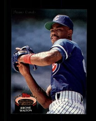 1992 Topps Stadium Club #421  Jerome Walton