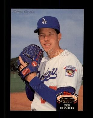 1992 Topps Stadium Club #431  Orel Hershiser