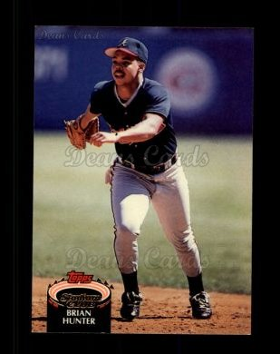 1992 Topps Stadium Club #432  Brian Hunter
